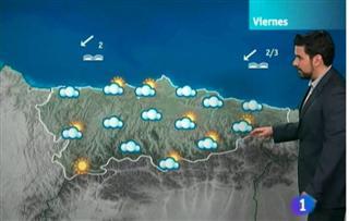 El tiempo en Asturias - 19/07/12