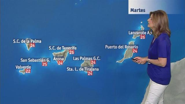 El tiempo en Canarias - 13/06/2017