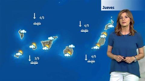El tiempo en Canarias - 16/06/2016