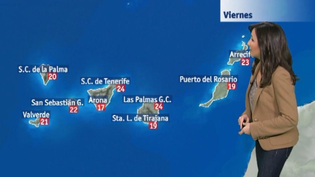 El tiempo en Canarias - 21/11/14