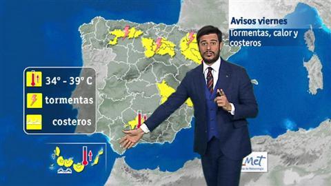 El tiempo en Canarias - 24/06/2016