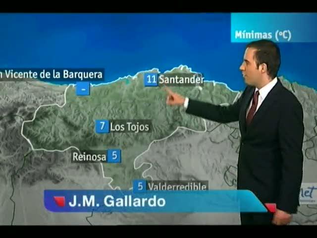 El tiempo en Cantabria - 27/04/2012