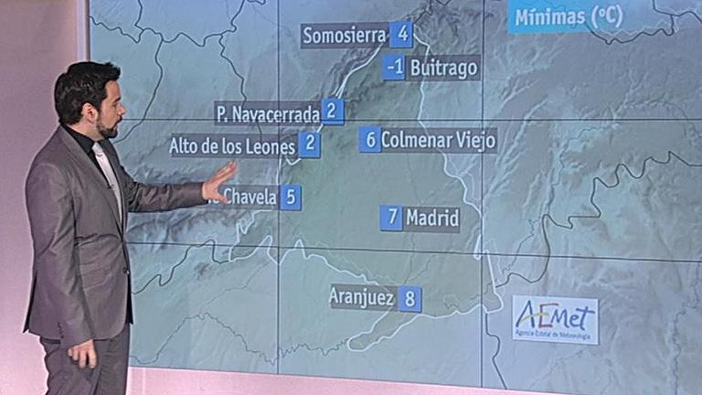 El tiempo en la Comunidad de Madrid - 02/03/12
