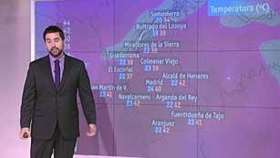 El tiempo en la Comunidad de Madrid - 09/08/12