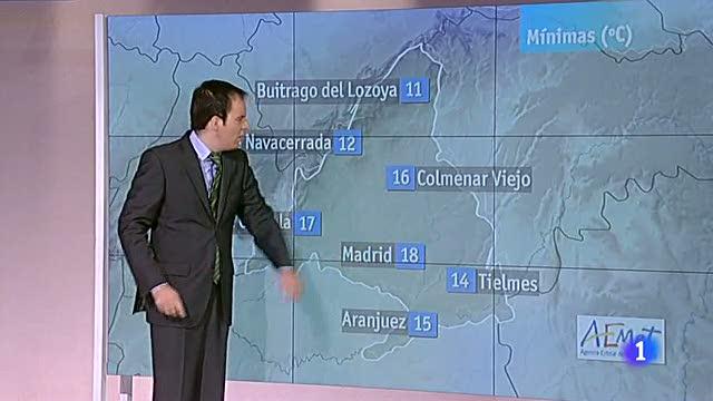 El tiempo en la Comunidad de Madrid - 18/09/12