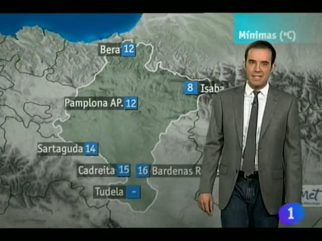 El Tiempo en la Comunidad de Navarra - 15/06/12