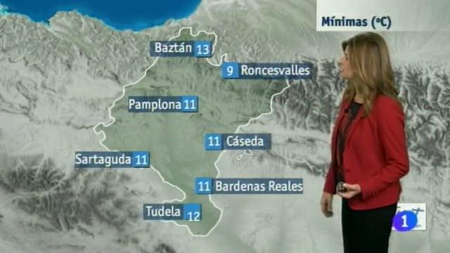 El Tiempo en la Comunidad de Navarra - 25/11/2014