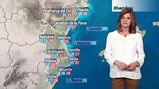 El tiempo en la Comunidad Valenciana - 01/06/17