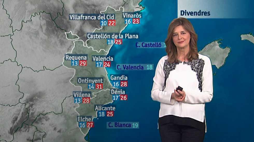 El tiempo en la Comunidad Valenciana - 02/06/16