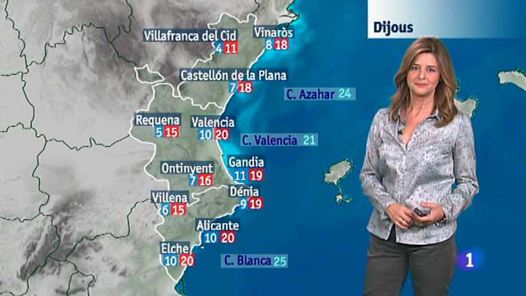El tiempo en la Comunidad Valenciana - 05/11/14