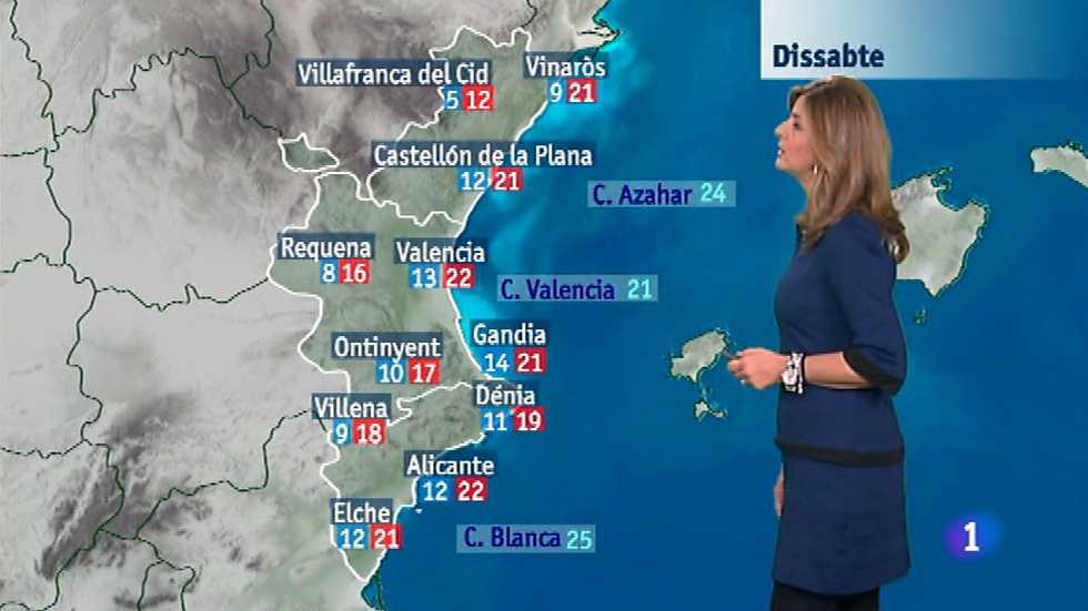 El tiempo en la Comunidad Valenciana - 07/11/14
