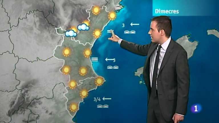 El tiempo en la Comunidad Valenciana - 08/05/12