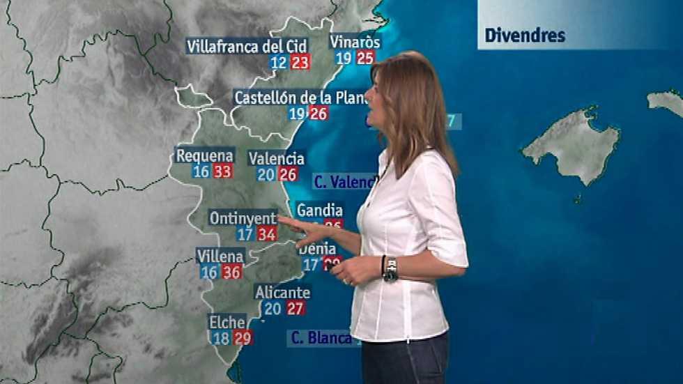El tiempo en la Comunidad Valenciana - 09/06/16