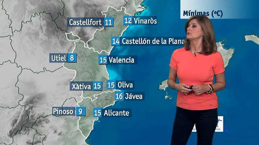 El tiempo en la Comunidad Valenciana - 09/10/17
