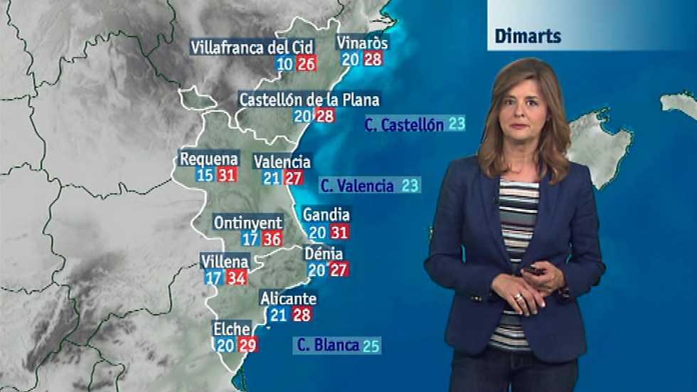 El tiempo en la Comunidad Valenciana - 13/06/16