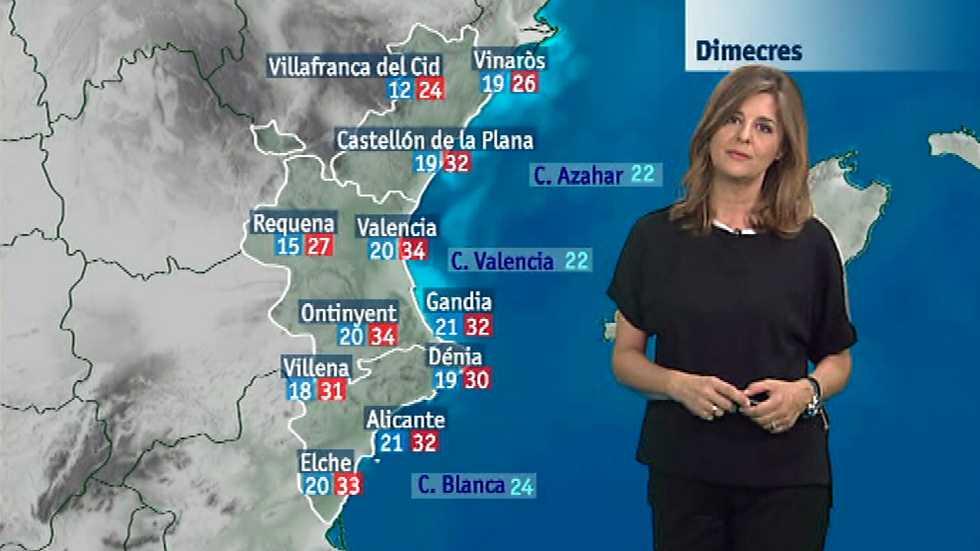 El tiempo en la Comunidad Valenciana - 14/06/16