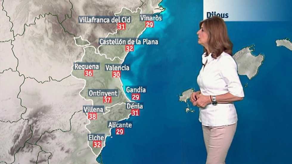 El tiempo en la Comunidad Valenciana - 15/06/17