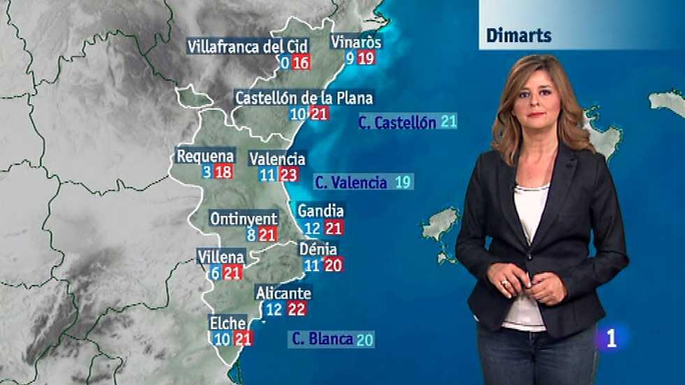 El tiempo en la comunidad valenciana 16 11 15 l - El tiempo en l arboc ...