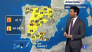 El tiempo en la Comunidad Valenciana - 17/07/17