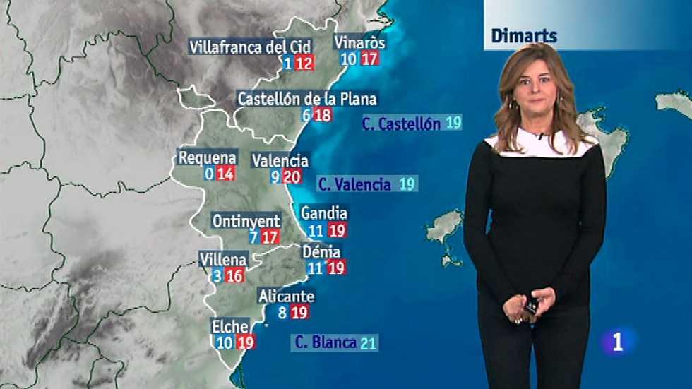 El tiempo en la Comunidad Valenciana - 17/11/14
