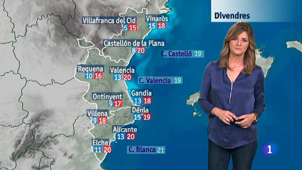 El tiempo en la Comunidad Valenciana - 20/11/14