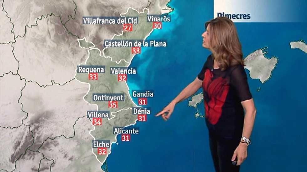 El tiempo en la Comunidad Valenciana - 21/06/17