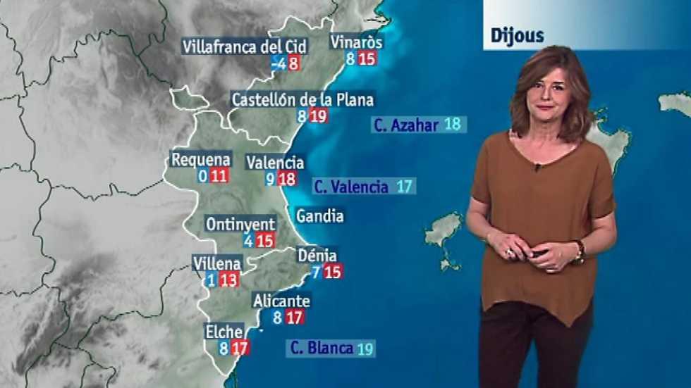 El tiempo en la comunidad valenciana 22 03 17 l - El tiempo en l olleria ...
