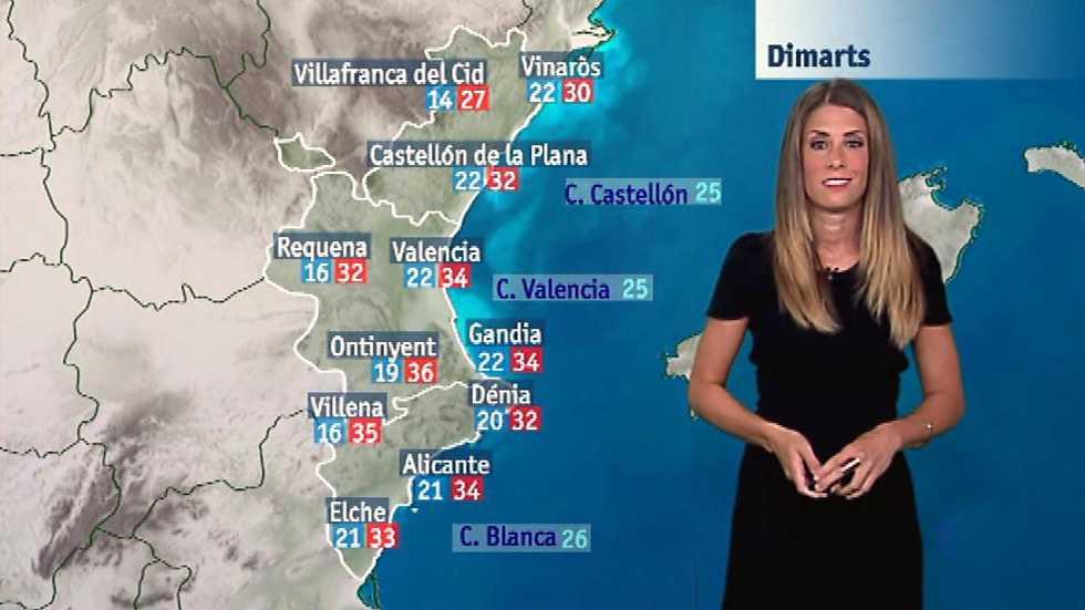 El tiempo en la Comunidad Valenciana - 26/06/17