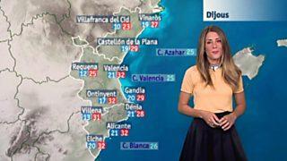 El tiempo en la Comunidad Valenciana - 28/06/17