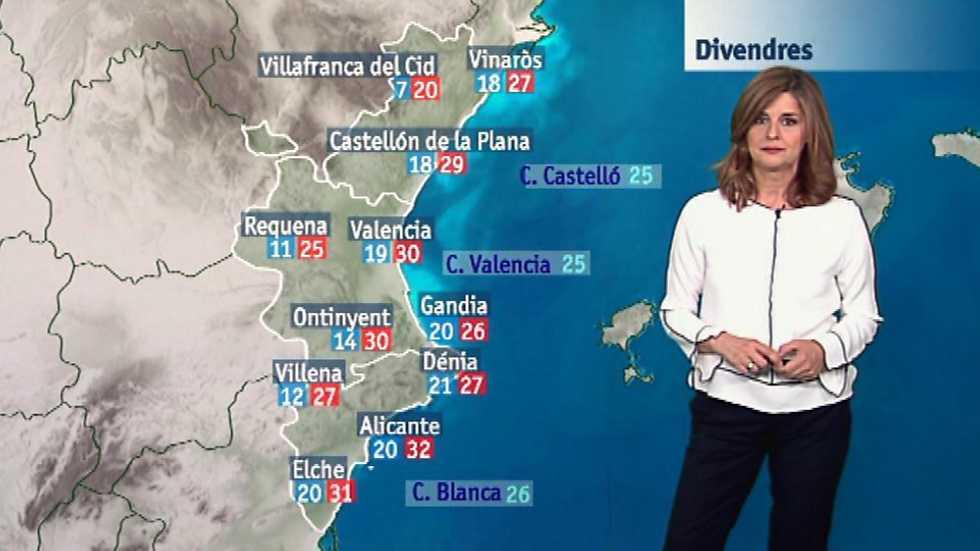 El tiempo en la Comunidad Valenciana - 29/06/17
