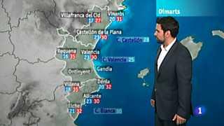 El tiempo en la Comunidad Valenciana - 30/07/12