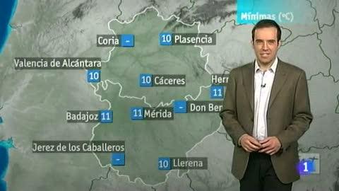 El tiempo en Extremadura - 04/05/12