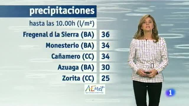 El tiempo en Extremadura - 11/11/14