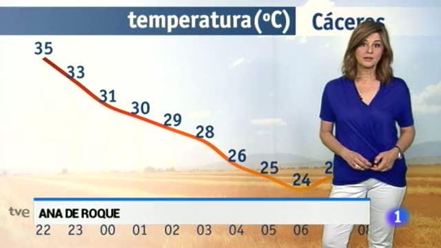 El tiempo en Extremadura - 13/06/17