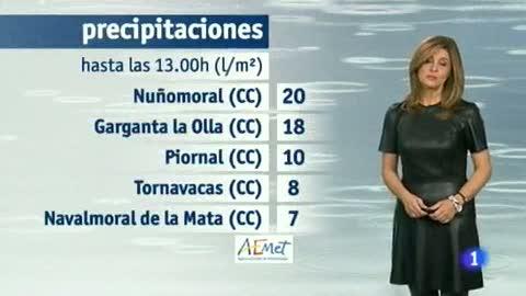 El tiempo en Extremadura - 13/11/14