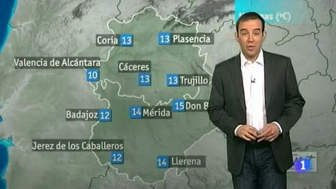 El tiempo en Extremadura - 18/05/12