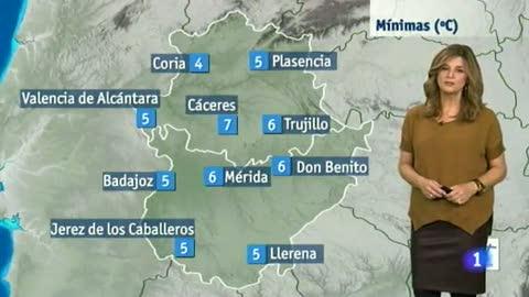 El tiempo en Extremadura - 18/11/14