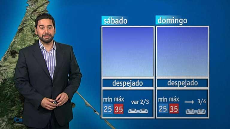 El tiempo en Melilla - 10/08/12