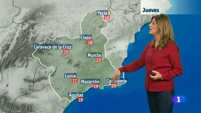 El tiempo en la Región de Murcia - 06/11/2014