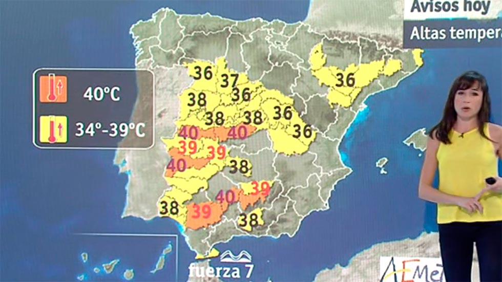 Temperaturas altas de día y de noche para este lunes y los próximos días