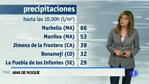 El tiempoen Andalucia-27/11/14