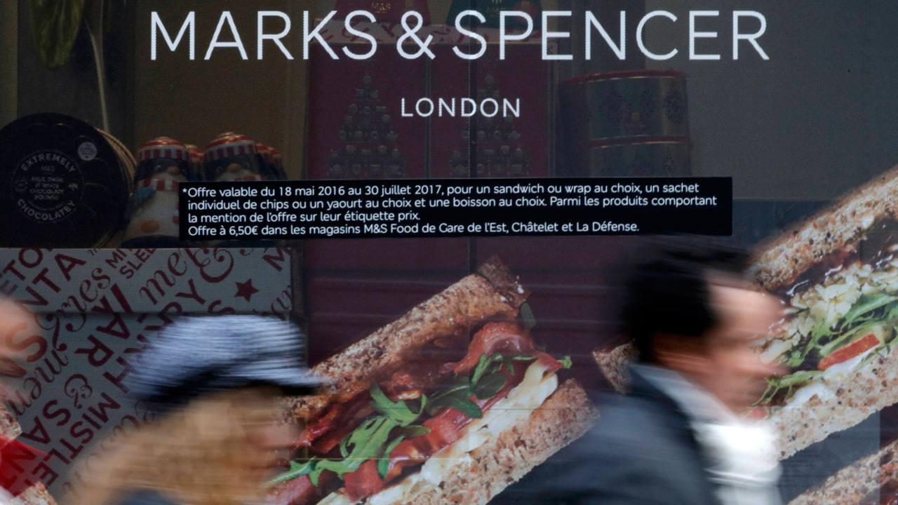 Una tienda de Marks&Spencer en París
