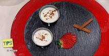 Cocina - Chupito de arroz con leche y coulis de moras