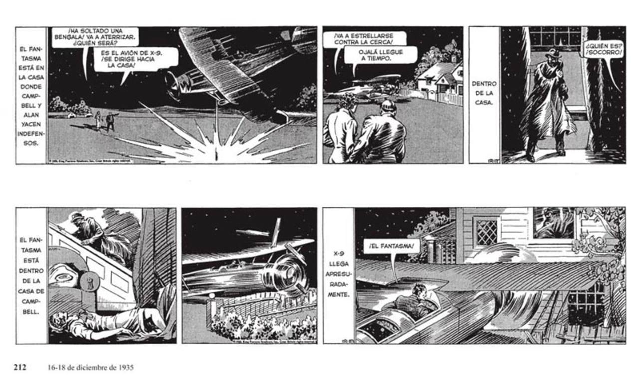 Tiras de 'Agente secreto X-9'