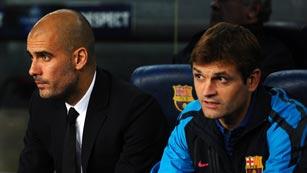 Tito Vilanova sustituirá a Pep Guardiola como entrenador del FC Barcelona