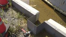 Ir al VideoToneladas de agua muy radioactiva de un tanque de Fukushima se filtran al subsuelo