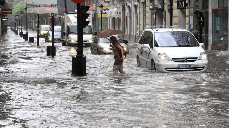 La granizada en Albacete causa algunos desperfectos pero no hay heridos