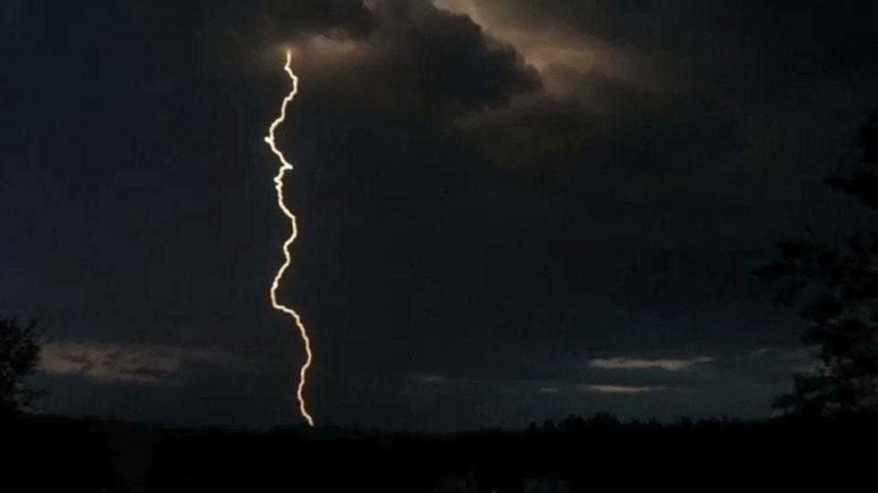 Tormentas en Aragón, Cataluña y Navarra y poco nuboso resto de España