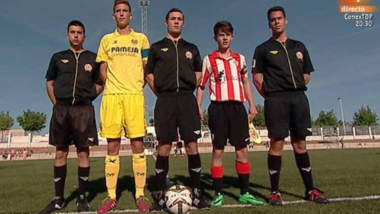 Fútbol - Torneo Interclubes Costa Blanca, fase previa. Villarreal C.F. - Athletic de Bilbao. Desde Torrevieja (Alicante)