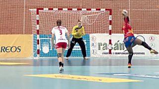 Balonmano - Torneo Internacional de España, Femenino: España - Polonia. Desde Elda (Alicante)